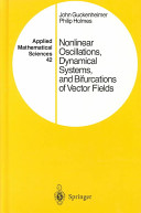 Cover of Nonlinear Oscillations, Dynamical Systems, and Bifurcations of Vector Fields