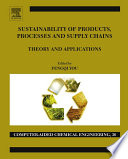 Sustainability of Products  Processes and Supply Chains Book