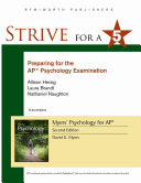 Strive for 5  Preparing for the AP Psychology Examination
