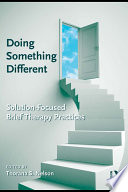 Doing Something Different Book
