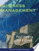 Business Management Workbook