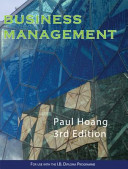 Cover of Business Management Workbook