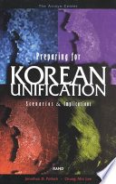 Preparing for Korean Unification