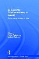 Democratic Transformations in Europe 31