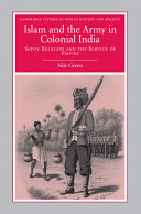 Islam and the Army in Colonial India