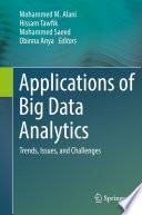 Applications of Big Data Analytics Book