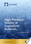 High Pressure Studies Of Crystalline Materials