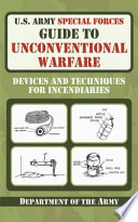 U S  Army Special Forces Guide to Unconventional Warfare Book PDF