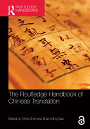 Pdf The Routledge Handbook of Chinese Translation Telecharger