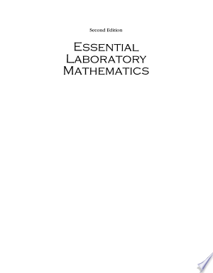 Download Essential Laboratory Mathematics Free Books - Dlebooks.net