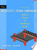 The Architect s Studio Companion Book
