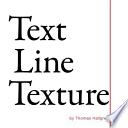 Text Line Texture