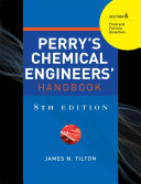 PERRY'S CHEMICAL ENGINEER'S HANDBOOK 8/E SECTION 6 FLUID&PARTICLE DYNAMICS (POD)