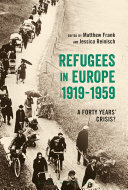 Refugees in Europe  1919 1959