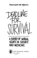 Deadline for Survival Book