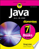 Java All in One For Dummies Book