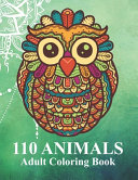 110 Animals Adult Coloring Book