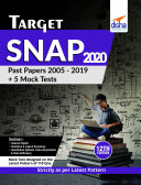 TARGET SNAP 2020 (Past Papers 2005 - 2019) + 5 Mock Tests 12th Edition Pdf/ePub eBook