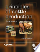 Principles of Cattle Production Book