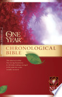 The One Year Chronological Bible NLT Book