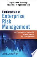 Fundamentals of Enterprise Risk Management Chapter 8: ERM Technology–Visual Risk—A Hypothetical Case