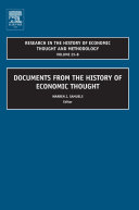 Documents From The History Of Economic Thought