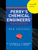 PERRY'S CHEMICAL ENGINEER'S HANDBOOK 8/E SECTION 13 DISTILLATION (POD)