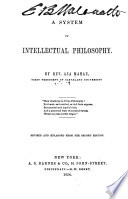 A System of Intellectual Philosophy