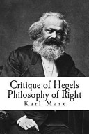 Critique of Hegels Philosophy of Right