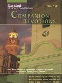 Standard Lesson Commentary Companion Devotions