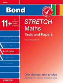 Bond Stretch Maths Tests and Papers 9 10 Years