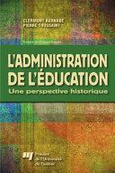 Pdf L' Administration de l'Éducation Telecharger