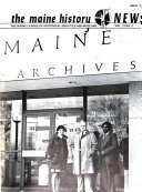 The Maine History News