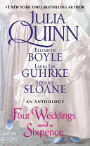 Four Weddings and a Sixpence Book Cover