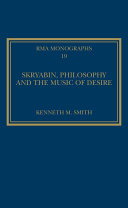 Skryabin  Philosophy and the Music of Desire
