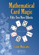 Pdf Mathematical Card Magic Telecharger