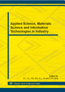 Applied Science, Materials Science and Information Technologies in Industry