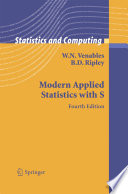 Modern Applied Statistics with S Book