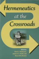 Pdf Hermeneutics at the Crossroads