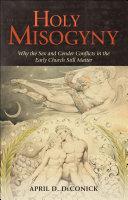 Holy Misogyny Pdf/ePub eBook