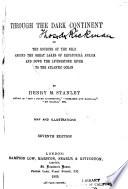 Through the Dark Continent Book