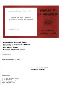 MRC Technical Summary Report