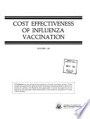 Cost Effectiveness of Influenza Vaccination