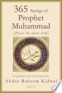 365 Sayings Of Prophet Muhammad Book PDF