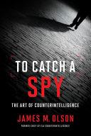 To Catch a Spy Book
