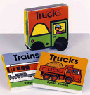 Trucks and Trains Board Book Set Book