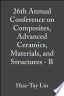 26th Annual Conference on Composites  Advanced Ceramics  Materials  and Structures   B