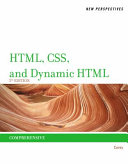 New Perspectives on HTML  CSS  and Dynamic HTML