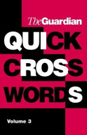 """Guardian"" Book of Quick Crosswords"