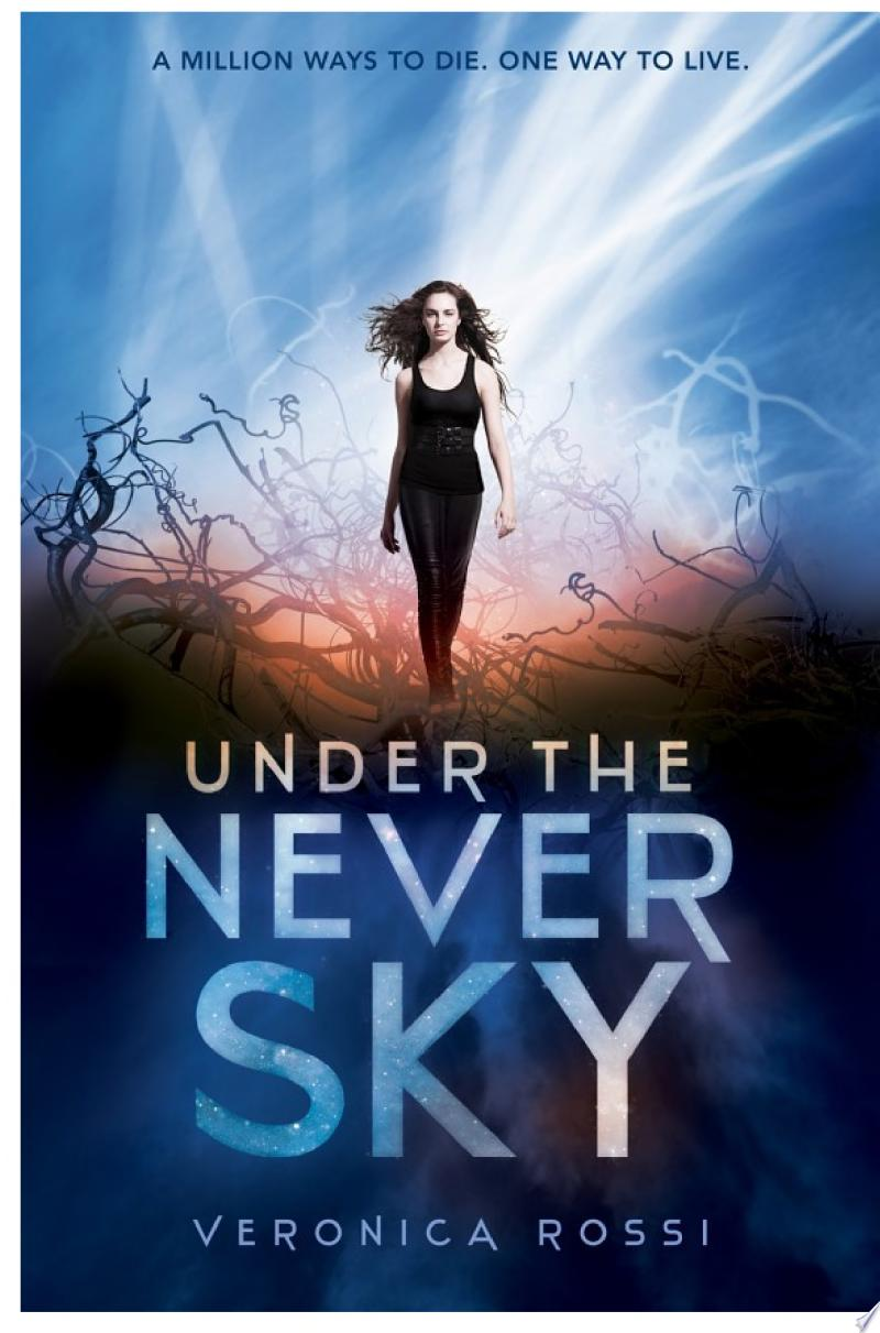 Under the Never Sky banner backdrop